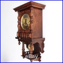 HERMLE TRIPLE CHIME Wall TOP Huge Clock High Quality Germany Westminster Vintage