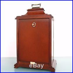 HERMLE Vintage German Mantel CLOCK TRIPLE CHIME! MOONPHASE Westminster SERVICED