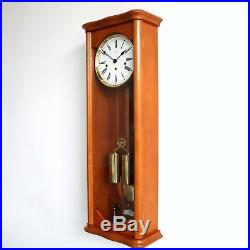 HERMLE WALL CLOCK TOP RANGE DESIGN! WESTMINSTER Chime XXL STRING Weights Germany