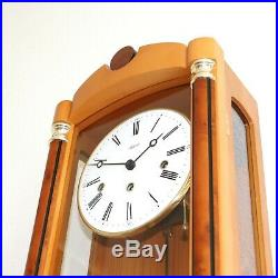 HERMLE Wall TOP Clock Westminster DESIGN! Chime Skeleton TRANSLUCENT Germany XXL