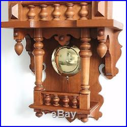 HERMLE Wall TOP HUGE Clock WESTMINSTER CHIME Quality Germany Westminster Vintage