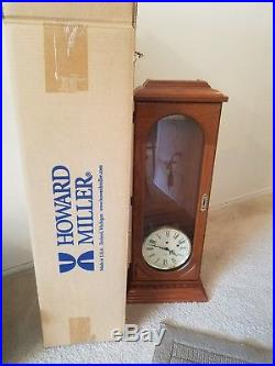 HOWARD MILLER 613-110 WESTMINSTER CHIME LONG CASE WALL CLOCK. Brand new