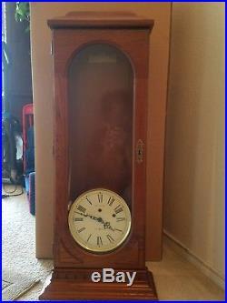 HOWARD MILLER 613-110 WESTMINSTER CHIME LONG CASE WALL CLOCK. Brand new