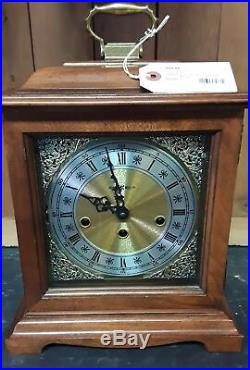 HOWARD MILLER KEY WIND WESTMINSTER CHIME MANTLE CLOCK WithKEY GERMANY MADE