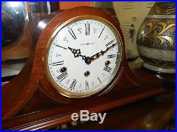 HOWARD MILLER TRIPLE CHIME (Westminster, St. Michael, Wittington) MANTEL CLOCK