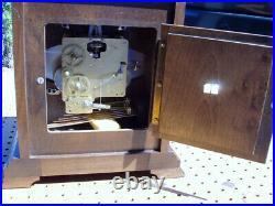 Hamilton 340-020 Westminster 2 Jewel Mantel Clock Movement West Germany Chimes