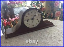 Hamilton Franz Hermle 340-020 2 Jewel Westminster Mantle Clock-Works With Key