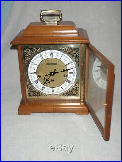 Hamilton Mantel Clock 8 Day Key Wound Westminster Chime Beautiful