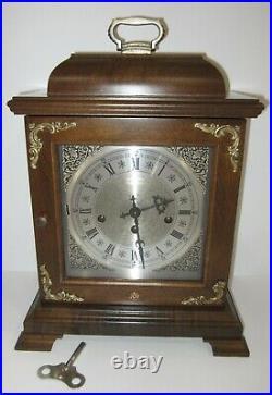 Hamilton Quarter Hour Westminster Chime Bracket Clock 8-day, Key-wind