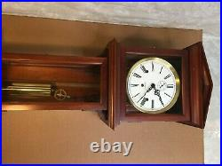 Hamilton Wall Clock 1 Weight Westminster Chimes Runs, Strikes and Chimes 1982