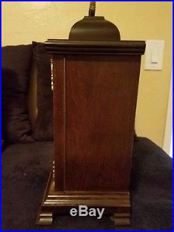 Hamilton Westminster 1/4 Hour Chime Mantle Carriage Clock #340-020 Piano Finish