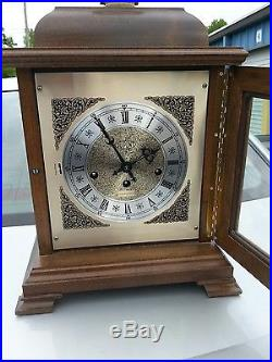 Hamilton Wheatland 8 day Westminster Chime Solid wood Mantel Clock dupont award