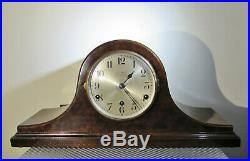 Handsome Westminster Chimes Napoleon Hat Mantel clock W E Gray London (at fault)