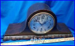 Herman Miller 22 Art Deco Michigan/German Westminster Chime Mantle Clock