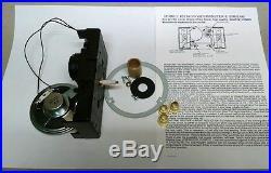 Hermle 2114 Westminster/BimBam QUARTZ CHIME CLOCK MOVEMENT with hardware-NEW