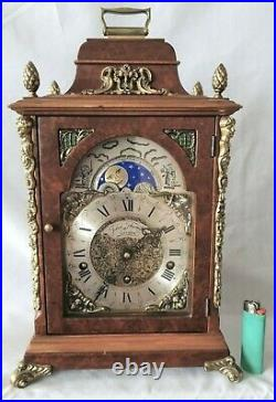 Hermle Mantle Clock Triple Chime Westminster, Winchester St Michael Rare 8 Rods