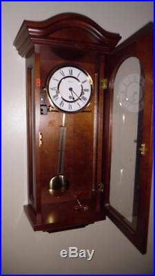 Hermle Mechanical Regulator Wall Clock with Westminster Chime