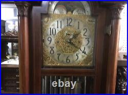 Herschede 9 Tube Grandfather Clock, Westminster, Whittington, Canterbury Chimes