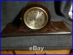 Herschede Hall Mantel Clock # 20 Grand Prize Triple Key Wind Westminster Chime