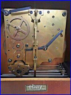 Herschede Mantel Clock Jefferson Model Westminster Chime Not Running