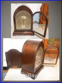 Herschede Restored Model 10-1920 Canterbury & Westminster Chimes Antique Clock