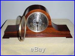 Herschede Westminster Chime Mantel Clock Jauch/Franz Hermle 340-020 Beautiful