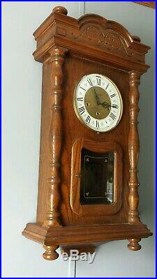 Herschede Westminster Chime Wall Clock