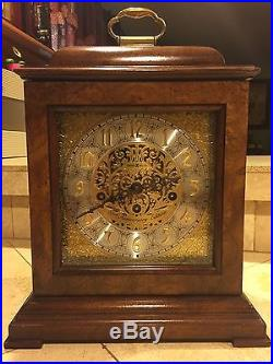 Howard Miller 59th Anniversary Key Wound Mantel Clock 612 724 Westminster Chime