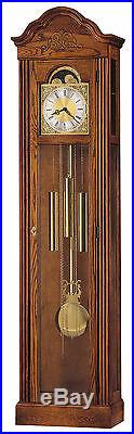 Howard Miller 610-519 (610519) Ashley Grandfather Floor Clock Oak Yorkshire