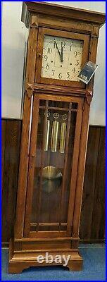 Howard Miller 610-804 Greene II Mission Style Heritage Oak Grandfather Clock