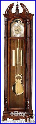 Howard Miller 610-895 Jonathon Traditional Cherry Chiming Grandfather Clock