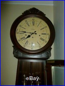 Howard Miller 610-900 (610900) La Rochelle III Floor Clock Cherry Finish
