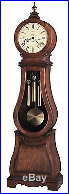 Howard Miller 611-005 (611005) Arendal Grandfather Floor Clock Tuscany Cherry