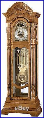 Howard Miller 611-048 (611048) Nicolette Grandfather Floor Clock Golden Oak