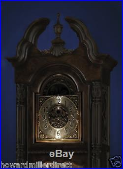 Howard Miller 611-084 Ramsey Traditional Cherry Grandfather Floor Clock