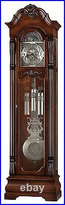 Howard Miller 611-102 (611102) Neilson Grandfather Floor Clock Rustic Cherry