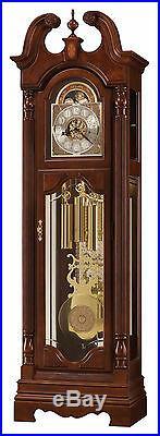 Howard Miller 611-194 (611194) Beckett Grandfather Floor Clock Windsor Cherry