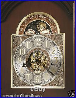 Howard Miller 611-194 Beckett Traditional Chiming Cherry Grandfather Clock