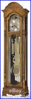 Howard Miller 611-202 Browman Oak Traditional Chiming Grandfather Clock