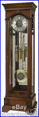 Howard Miller 611-224 Alford Cherry Flat Top Chiming Grandfather Clock