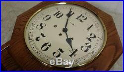 Howard Miller 612-533 Shelburne Regulator School Day Clock, Westminster Chimes