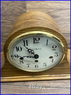 Howard Miller 612-618 Mantel Clock Westminster Chimes with Key