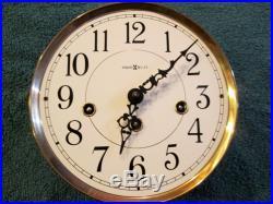Howard Miller 613-100 Oak Wall Clock Westminster Chimes