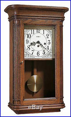 Howard Miller 613-108 (613108) Sandringham Chiming Wall Clock, Yorkshire Oak