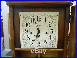 Howard Miller 613-108 Sandringham Oak Wall CLock Westminster Chime Running