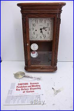 Howard Miller 613-118 Sandringham Westminster Chime Mantel Clock Unused Works