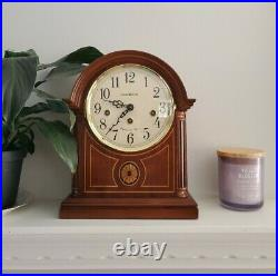 Howard Miller 613-180 Barrister Mantel Clock with Westminster Chimes, Tested No Key