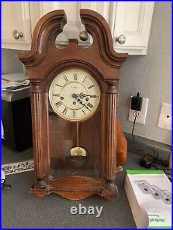 Howard Miller 613-227 Westminster Chime Hardwood Wall Mantel Clock