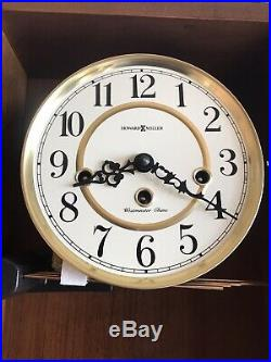 Howard Miller 620-232 Daniel Mechanical Key-Wound Westminster Chime Wall Clock
