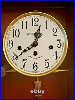Howard Miller 620-445 (620445) Jennelle Wall Clock Windsor Cherry